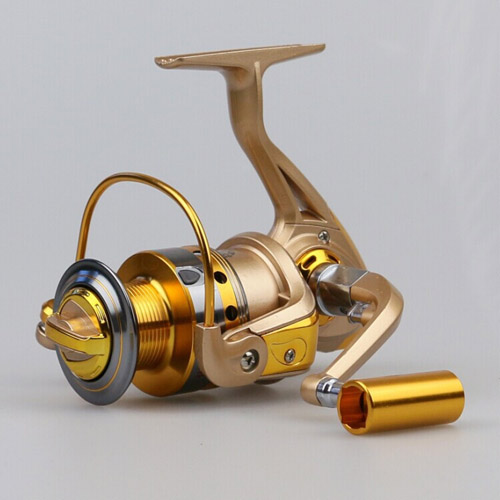 Spinning Fishing Reel HF1000-7000 10BB Metal Spool Molinete Pesca Gear 5.5:1 Left/Right Interchangeable Pescaria