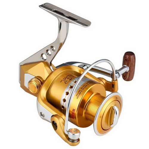 Carretilha Pesca New Metal Spinning Fishing Reel 12+1BB BE1000-7000 Ratio 5.1:1