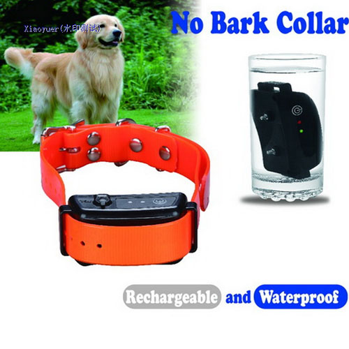 Hot sell quality strong waterproof Rechargeable Dog Trainer Anti Bark Collar