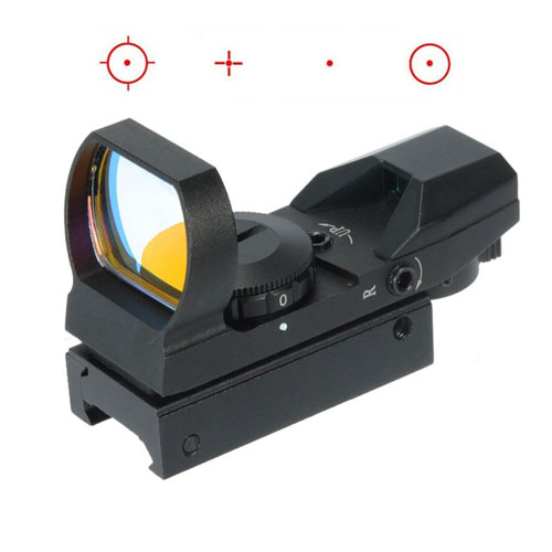 1X22X33 Red Dot Sight Fits For 20mm Rail 4 Reticle Reflex for Air soft Hunting Rifle Scopes