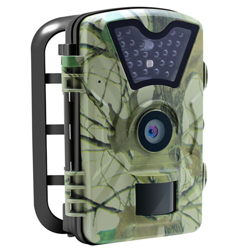 1080p 30fps 0.5s trigger speed 24pcs ir wildlife trail hunting scouting camera