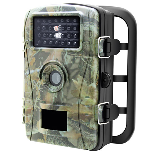 70°Wide Angle Night Vision 2.4″ LCD Display 26 pcs IR Leds 720P Waterproof PIR HD Hunting Trail Video Camera for Wildlife Observation and Scouting