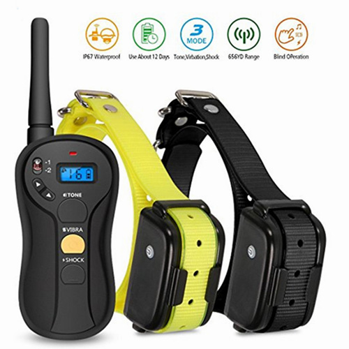Blind Operate Dog Training Collar